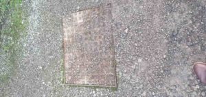 drain cover outside